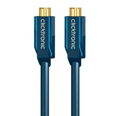 Clicktronic : 20m S-video - Blauw