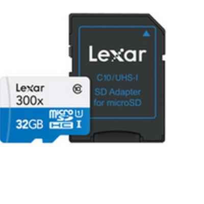 Lexar flashgeheugen: microSDHC UHS-I cards - Multi kleuren