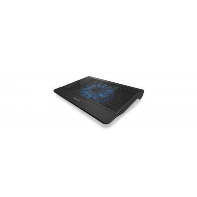Icy box notebook koelingskussen: IB-CP101BL - Zwart