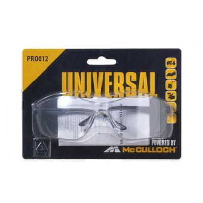 Universal veiliheidsbril: PRO012 - Transparant