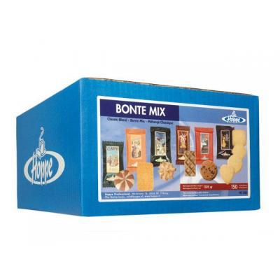 Hoppe bakkerswaar: Koekjes Bonte mix 6 soort/doos 150