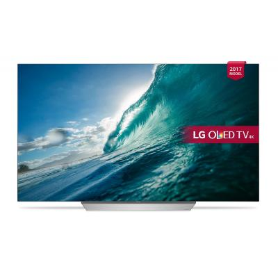 """Lg led-tv: OLED, 139.7 cm (55 """") , 3840 x 2160px, Active HDR, HDMI, USB, LAN, Wi-Fi - Zilver"""