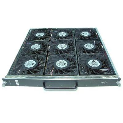 Cisco cooling accessoire: Catalyst 6509 Enhanced Chassis Fan Tray, Spare - Zwart, Zilver