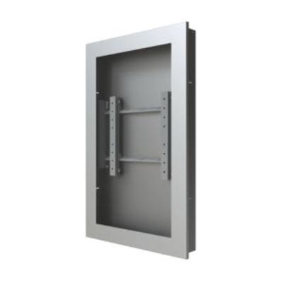 """Peerless In-Wall Kiosk Enclosure, 46"""", 34kg, Silver TV standaard - Zilver"""
