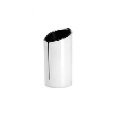 Sigel houder: Pennenkoker eyestyle - Zwart, Wit