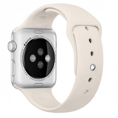 Apple : 42mm Antique White Sport Band - Wit