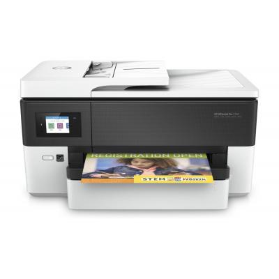 Hp multifunctional: OfficeJet 7720 Wide Format AiO - Zwart, Cyaan, Magenta, Geel