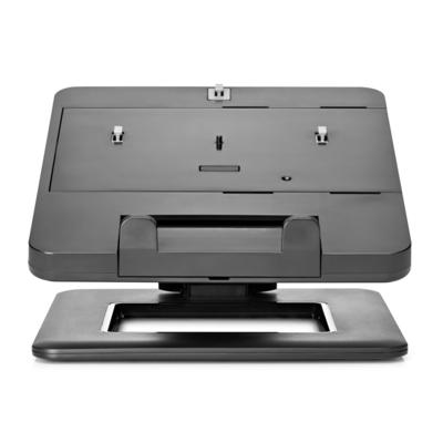 HP notebookstandaard II, dubbel scharnierend Notebooksteun - Zwart