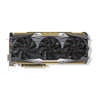 Zotac videokaart: GeForce GTX 1080 Ti AMP Extreme