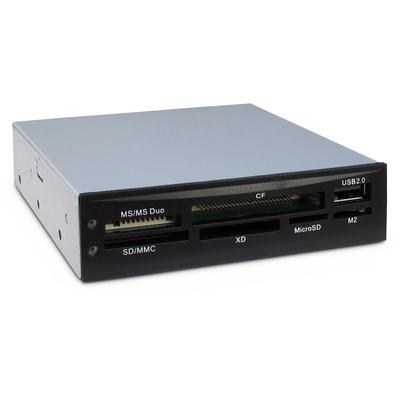 Inter-Tech CI-02 Geheugenkaartlezer - Zwart