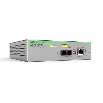 Allied Telesis AT-PC200/SC-60 Media converter - Grijs