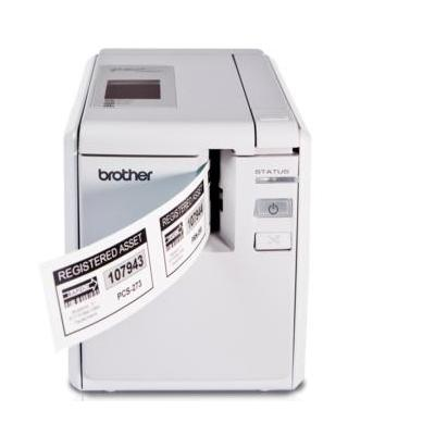 Brother labelprinter: PT-9700PC - 36mm HG tape, 80mm/s, USB, RS-232 - Wit, ABC