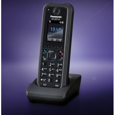 Panasonic telephone headset: KX-UDT131 - Zwart