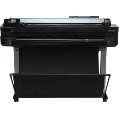 Hp grootformaat printer: Designjet Designjet T520 914-mm ePrinter - Zwart, Cyaan, Magenta, Geel