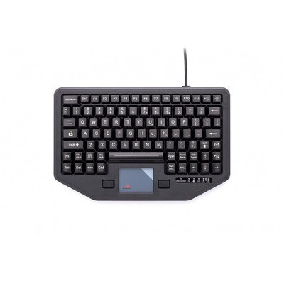 Gamber-Johnson iKey Full Travel Keyboard with Attachment Versatility and White Back Lighting - QWERTY .....