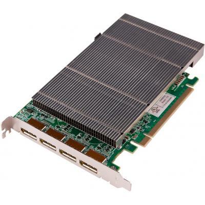 Datapath ImageDP4+, PCI E, 4x DP, 2GB, 110x177 mm Videokaart - Groen, Grijs