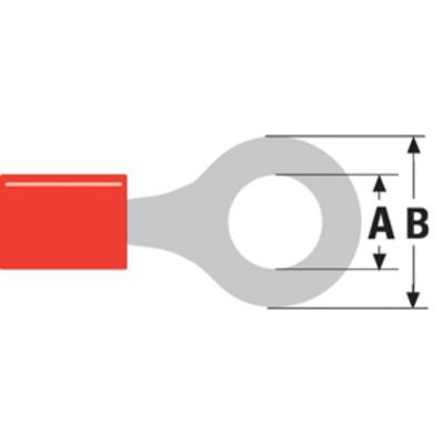 Valueline ST-002 Kabel connector - Rood