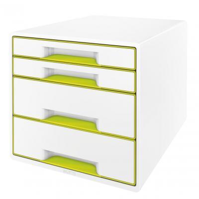 Leitz bureaulade: WOW Ladenblok - Groen, Metallic