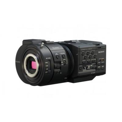 "Sony digitale videocamera: NEX-FS700R - MPEG-4 AVC/H.264 AVCHD 2.0,""Exmor "" Super35 CMOS Sensor, 11.6 Mpix, Full HD, MS ....."