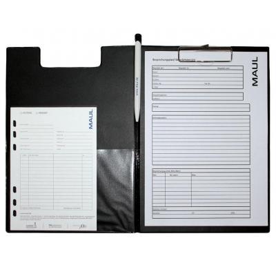 Maul klembord: 32 x 23 x 1.3 cm - Zwart