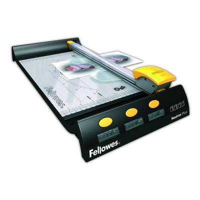 Fellowes Neutron Plus A4 rolsnijmachine Snijmachine - Grafiet,Zilver,Geel