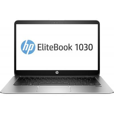 Hp laptop: EliteBook 1030 G1 - Zwart, Zilver (Renew)