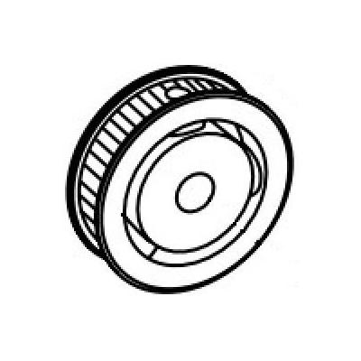 Intermec Tooth Belt Wheel Assy. for EasyCoder 501 XP / 601 XP Printing equipment spare part