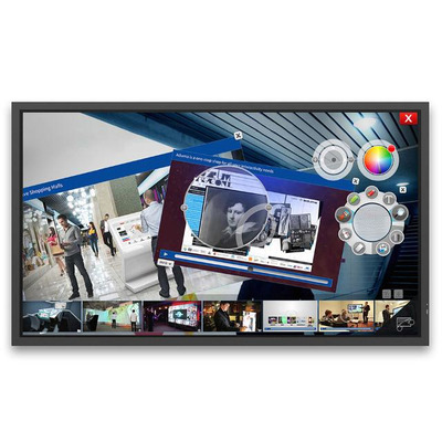 NEC MultiSync X981UHD-2 SST Public display - Zwart