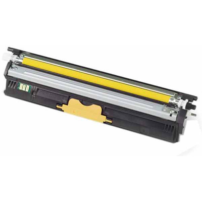 OKI cartridge: Toner voor C110/C130/MC160n, Geel