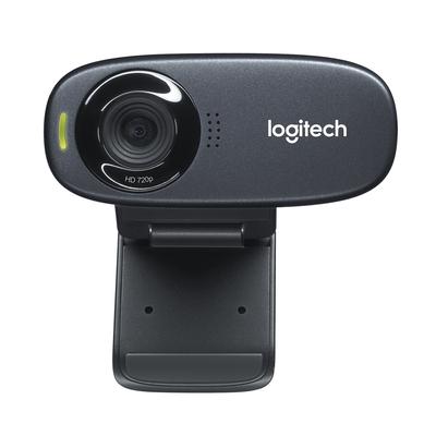 Logitech C310 Webcam - Zwart