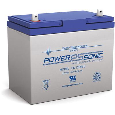 Power-Sonic PS-12550 UPS batterij - Blauw, Grijs