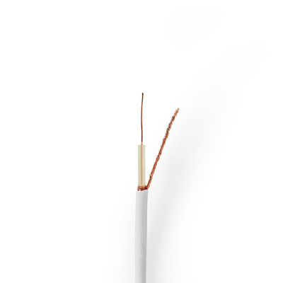 Nedis CSBG4005WT250 Coax kabel - Wit