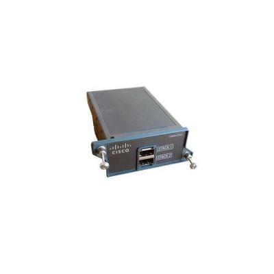 Cisco switchcompnent: Switch/2960S Flexstack Stack Module - Zwart