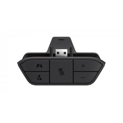 Microsoft spel accessoire: Xbox One Stereo Headset Adapter - Zwart