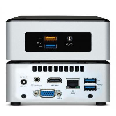 Vision mediaspeler: VMP-CE5CPYH CELERON 4K VMP - Zwart, Zilver