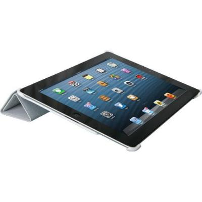 ICIDU tablet case: iPad 3 Slim Folio Stand Grey - Grijs