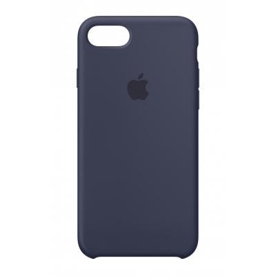 Apple mobile phone case: Siliconenhoesje voor iPhone 8/7 - Middernachtblauw