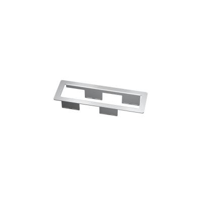 Kindermann Cutout: 235+1 mm x 60+1 mm, Thickness of plate: approx. 10 - 40 mm, Installation depth: approx. 60 .....