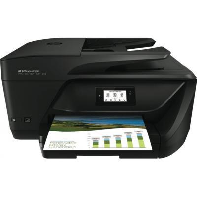 Hp multifunctional: OfficeJet 6950 AiO - Zwart, Cyaan, Magenta, Geel
