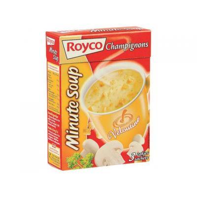 Royco voedingswaar: Minute soup Vel cruncy cham/ds 20