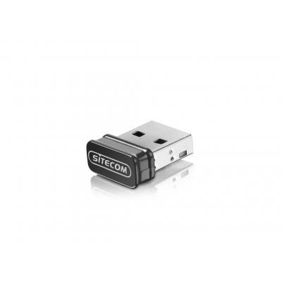 Sitecom netwerkkaart: WLA-3001 AC450 Wi-Fi USB 5 GHz Adapter - Zwart