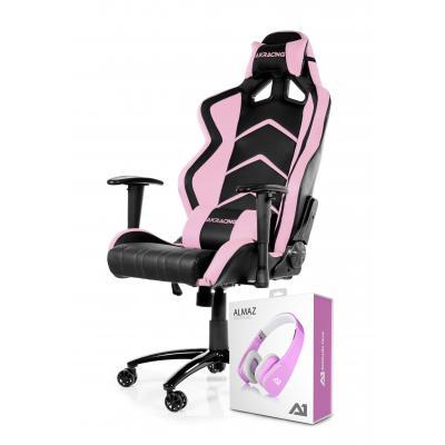 Akracing stoel: Player Gaming Chair Black Pink