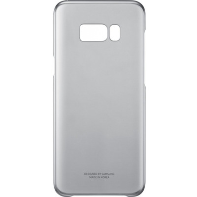 Samsung Galaxy S8+ Clear Cover Zwart mobile phone case