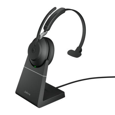 Jabra Evolve2 65 MS Mono USB-A Headset - Zwart