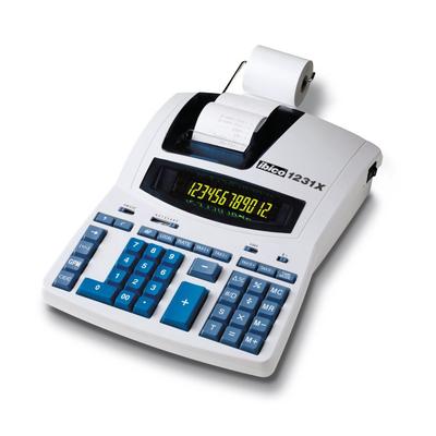 Rexel calculator: Ibico 1231X Professionele Printrekenmachine