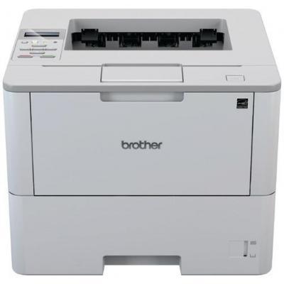 Brother laserprinter: 48 ppm, 1200 x 1200 dpi, LCD, 520-sheets, 802.11 b/g/n, LAN, USB 2.0, 12.3 kg - Grijs