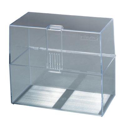 Herlitz index card box A6 empty transparent Kaartenbak - Transparant