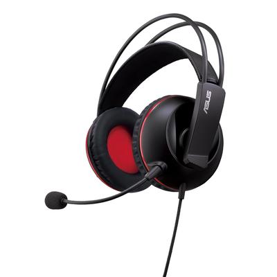Asus headset: Cerberus - Zwart, Rood