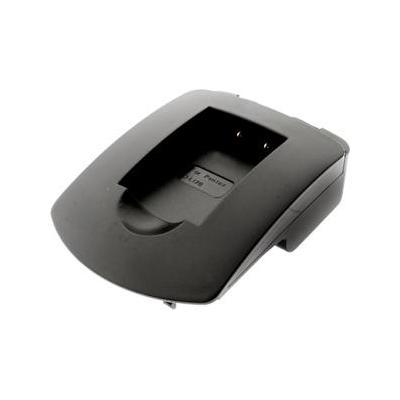 2-power oplader: PLA8071A - Charging Plate for Nikon EN-EL3 - Zwart