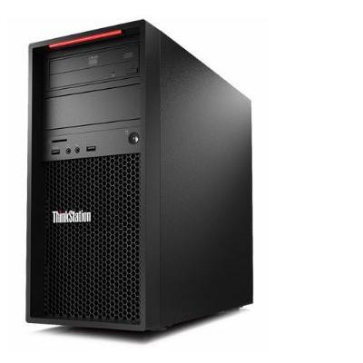 Lenovo ThinkStation P520c Tower Xeon W 16GB RAM 256GB SSD Pc - Zwart
